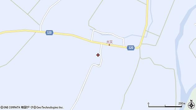 山形県最上郡金山町山崎三枝1335周辺の地図