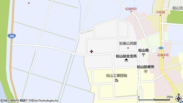 山形県酒田市山田16周辺の地図