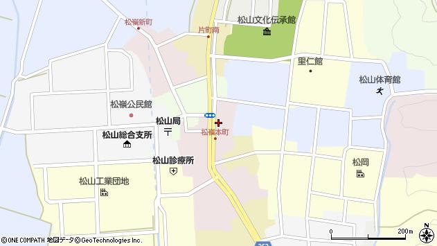 山形県酒田市本町27周辺の地図