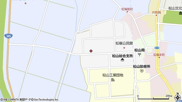 山形県酒田市山田14周辺の地図