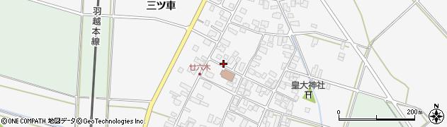 山形県東田川郡庄内町廿六木三ツ車74周辺の地図