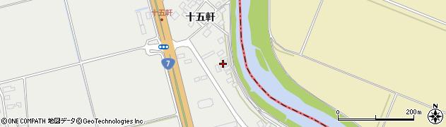 山形県酒田市広野十五軒43周辺の地図