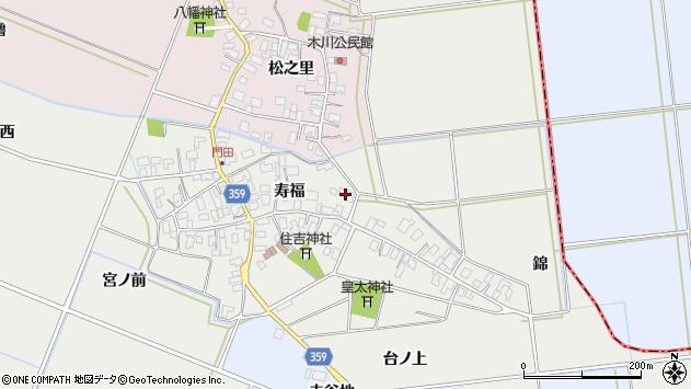 山形県酒田市門田寿福67周辺の地図