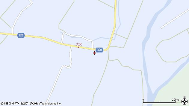 山形県最上郡金山町山崎三枝1359周辺の地図