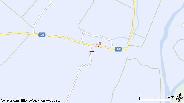 山形県最上郡金山町山崎三枝1341周辺の地図