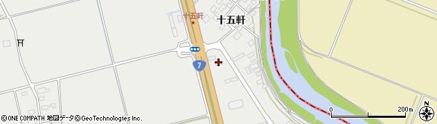 山形県酒田市広野十五軒57周辺の地図