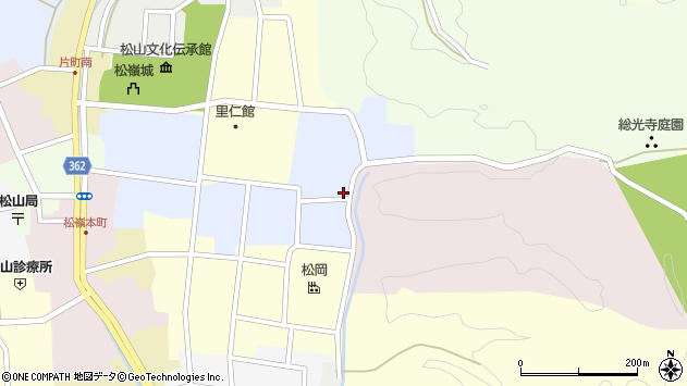 山形県酒田市内町8周辺の地図