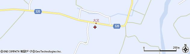 山形県最上郡金山町山崎三枝1347周辺の地図
