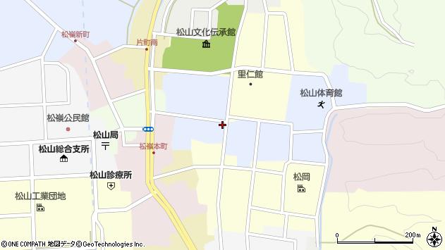 山形県酒田市内町28周辺の地図