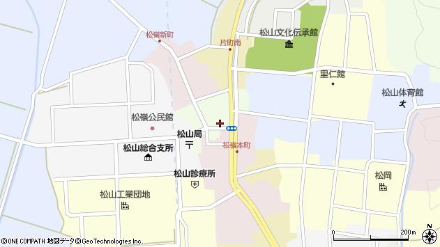 山形県酒田市肴町13周辺の地図