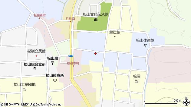 山形県酒田市内町29周辺の地図