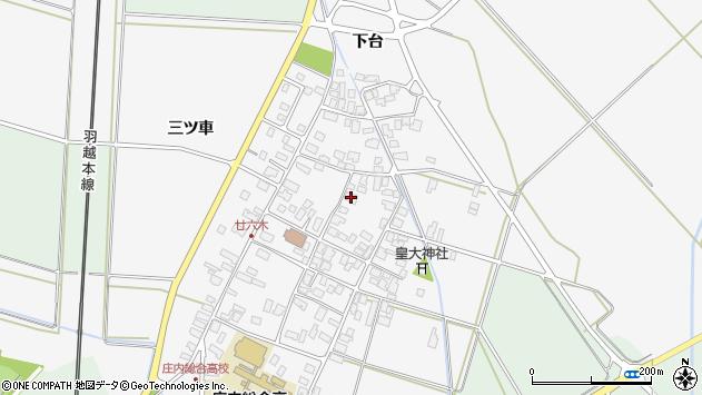 山形県東田川郡庄内町廿六木三ツ車81周辺の地図