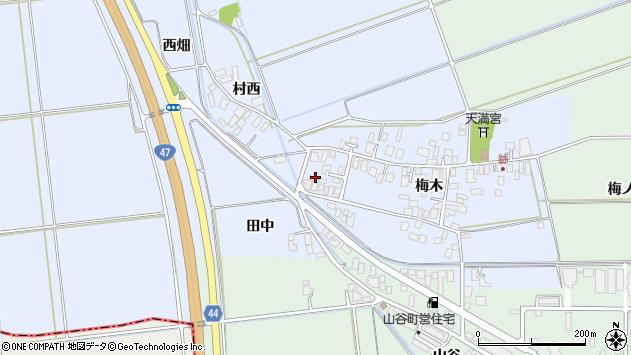 山形県東田川郡庄内町跡梅木41周辺の地図