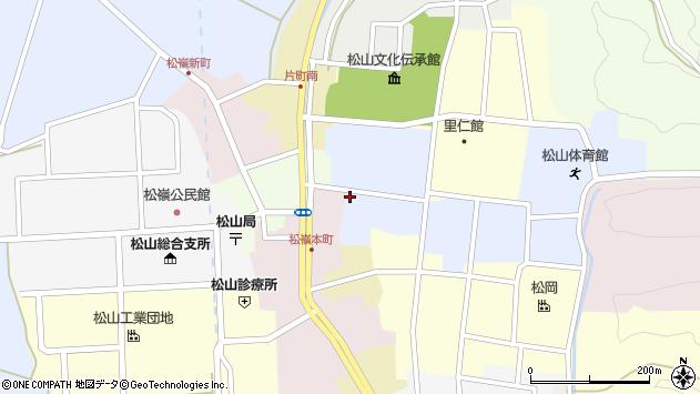山形県酒田市内町30周辺の地図