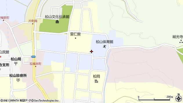 山形県酒田市内町16周辺の地図