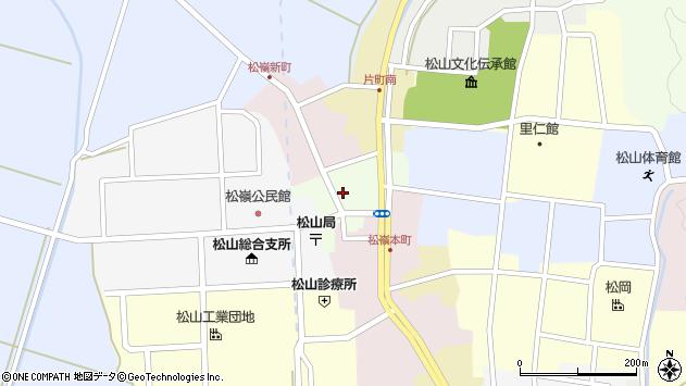 山形県酒田市肴町17周辺の地図