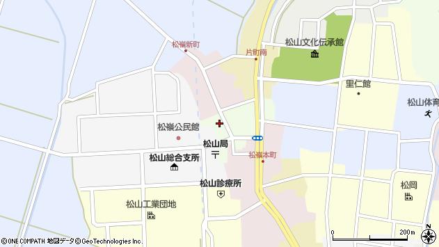 山形県酒田市肴町27周辺の地図