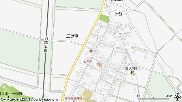 山形県東田川郡庄内町廿六木三ツ車131周辺の地図