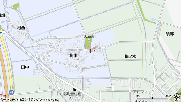 山形県東田川郡庄内町跡梅木97周辺の地図