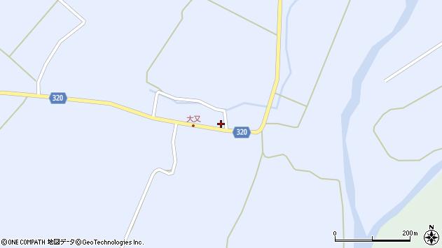 山形県最上郡金山町山崎三枝289周辺の地図