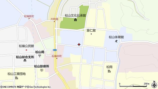 山形県酒田市内町33周辺の地図