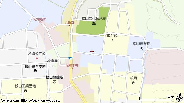 山形県酒田市内町32周辺の地図