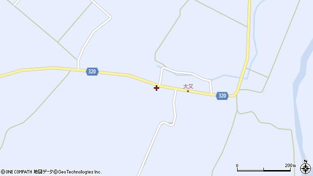 山形県最上郡金山町山崎三枝1282周辺の地図