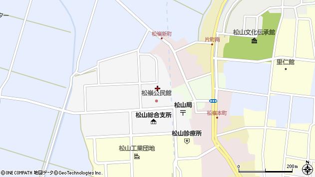山形県酒田市山田20周辺の地図