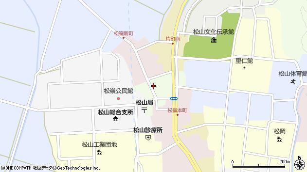 山形県酒田市肴町20周辺の地図
