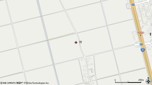山形県酒田市広野上中村246周辺の地図