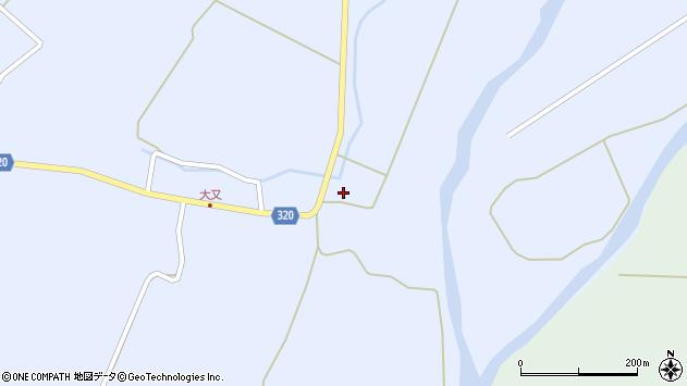 山形県最上郡金山町山崎三枝1512周辺の地図