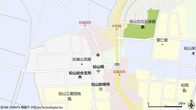 山形県酒田市肴町25周辺の地図
