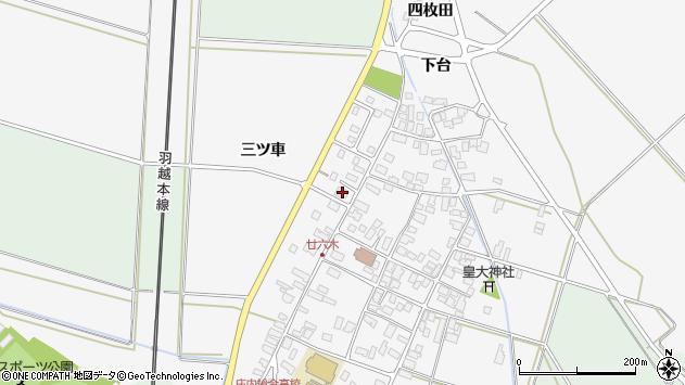 山形県東田川郡庄内町廿六木三ツ車130周辺の地図