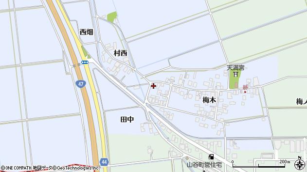 山形県東田川郡庄内町跡梅木51周辺の地図