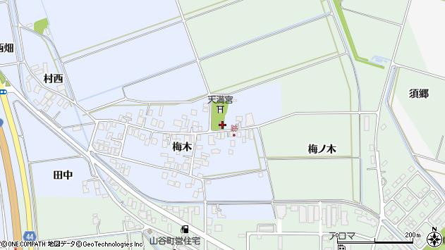 山形県東田川郡庄内町跡梅木100周辺の地図