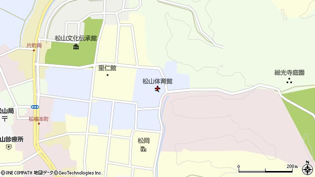 山形県酒田市内町6周辺の地図