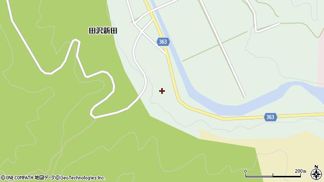 山形県酒田市田沢田沢新田17周辺の地図