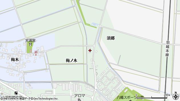 山形県東田川郡庄内町余目梅ノ木19周辺の地図