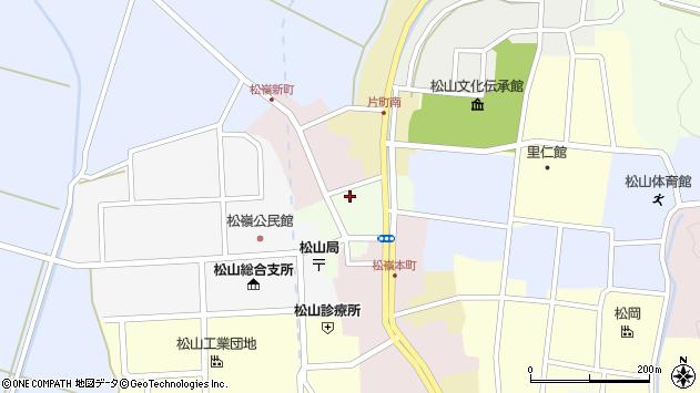 山形県酒田市肴町8周辺の地図