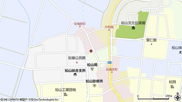 山形県酒田市新町54周辺の地図