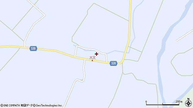 山形県最上郡金山町山崎三枝292周辺の地図