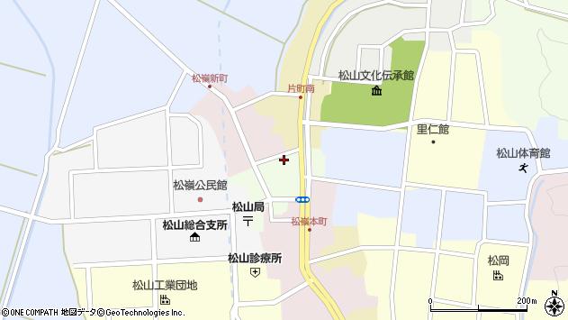 山形県酒田市肴町5周辺の地図