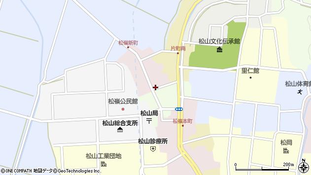 山形県酒田市新町6周辺の地図