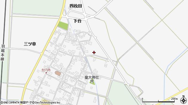 山形県東田川郡庄内町廿六木下台38周辺の地図
