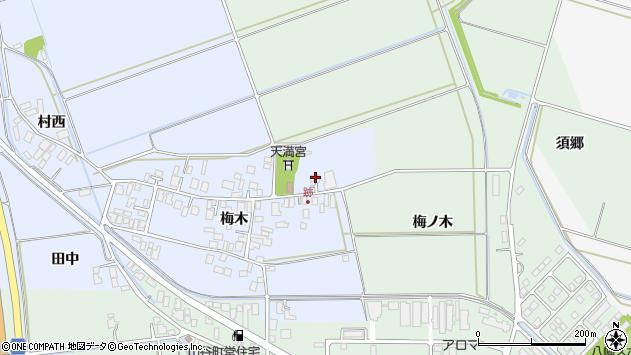 山形県東田川郡庄内町跡梅木102周辺の地図