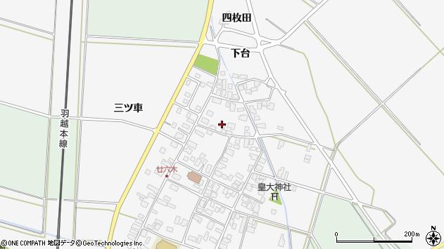 山形県東田川郡庄内町廿六木三ツ車94周辺の地図