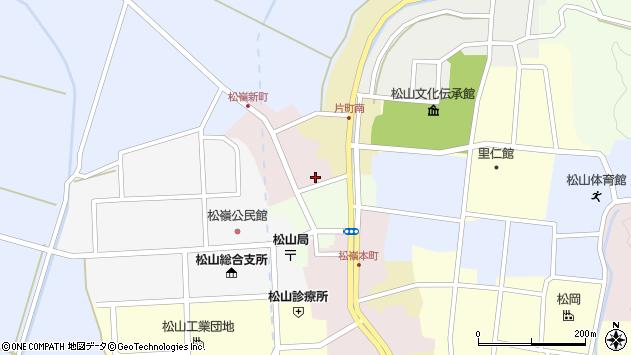 山形県酒田市新町5周辺の地図
