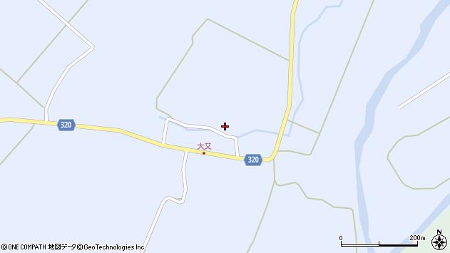 山形県最上郡金山町山崎三枝245周辺の地図