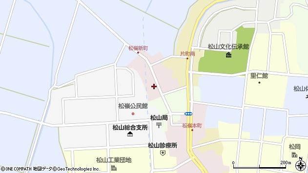 山形県酒田市新町49周辺の地図