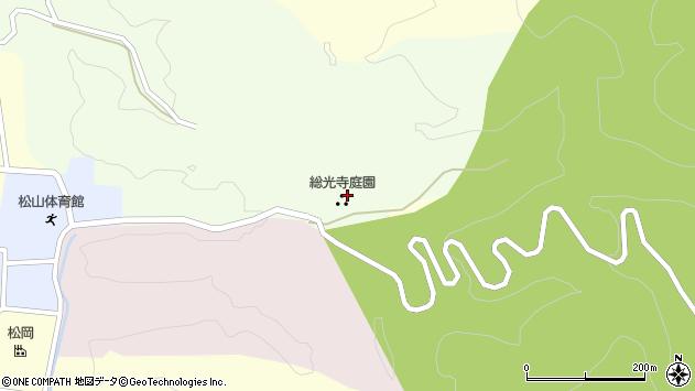 山形県酒田市総光寺沢周辺の地図